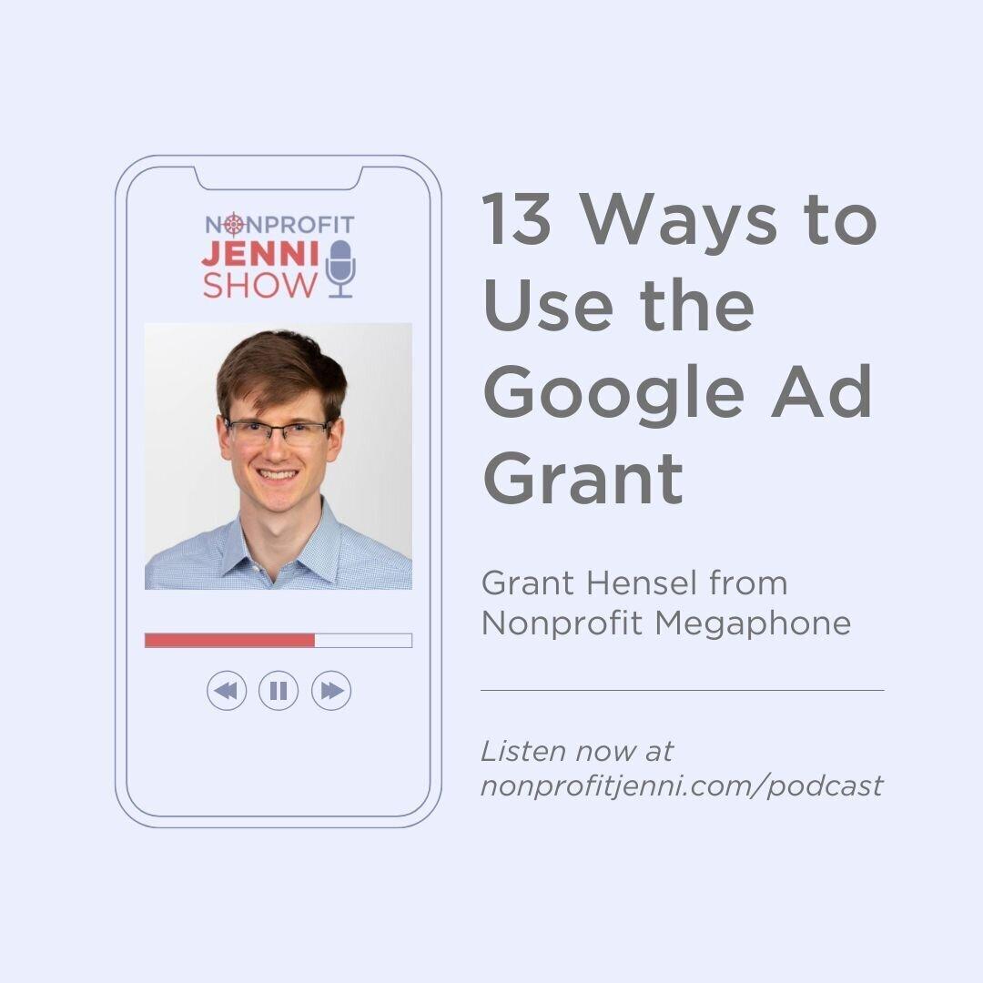 Nonprofit Jenni Podcast