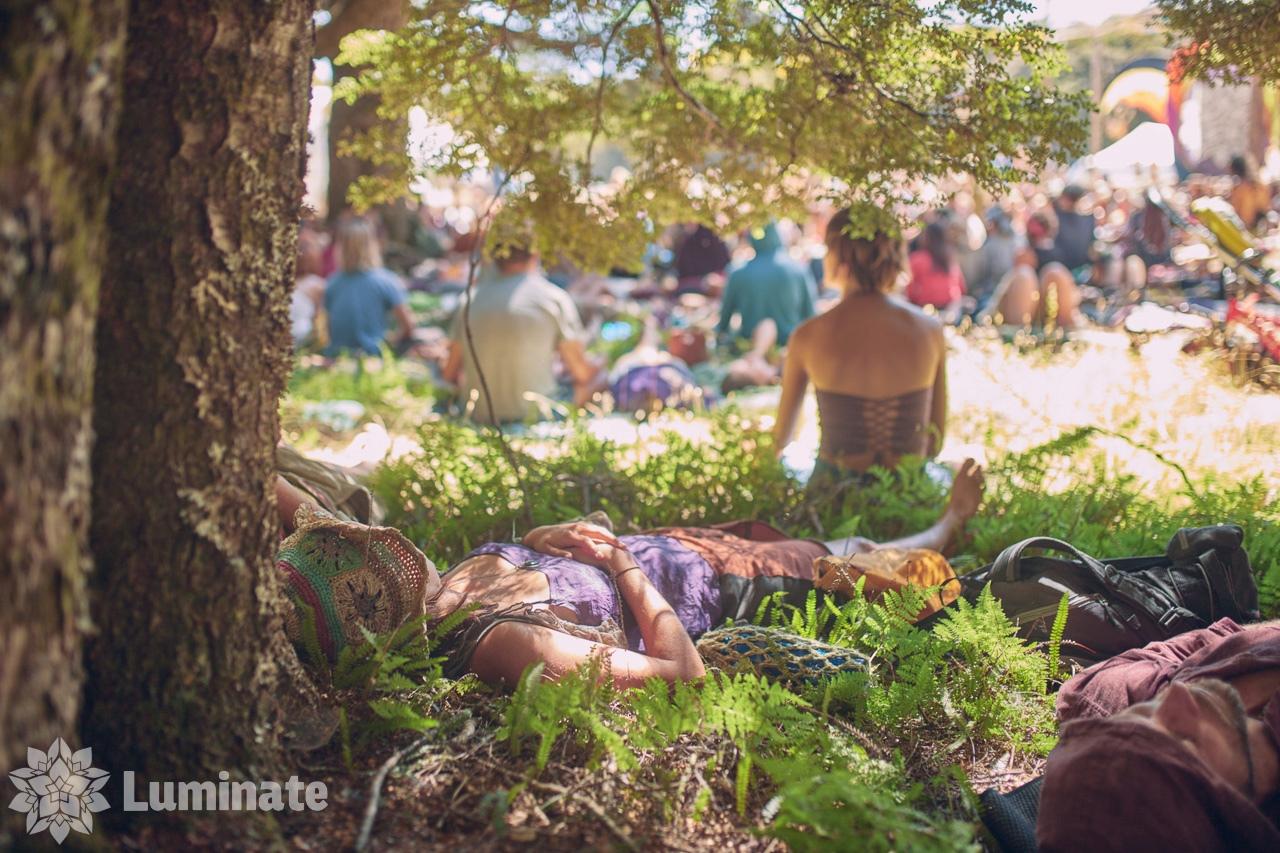 photo of tranquil scene at Luminate Festival 2019