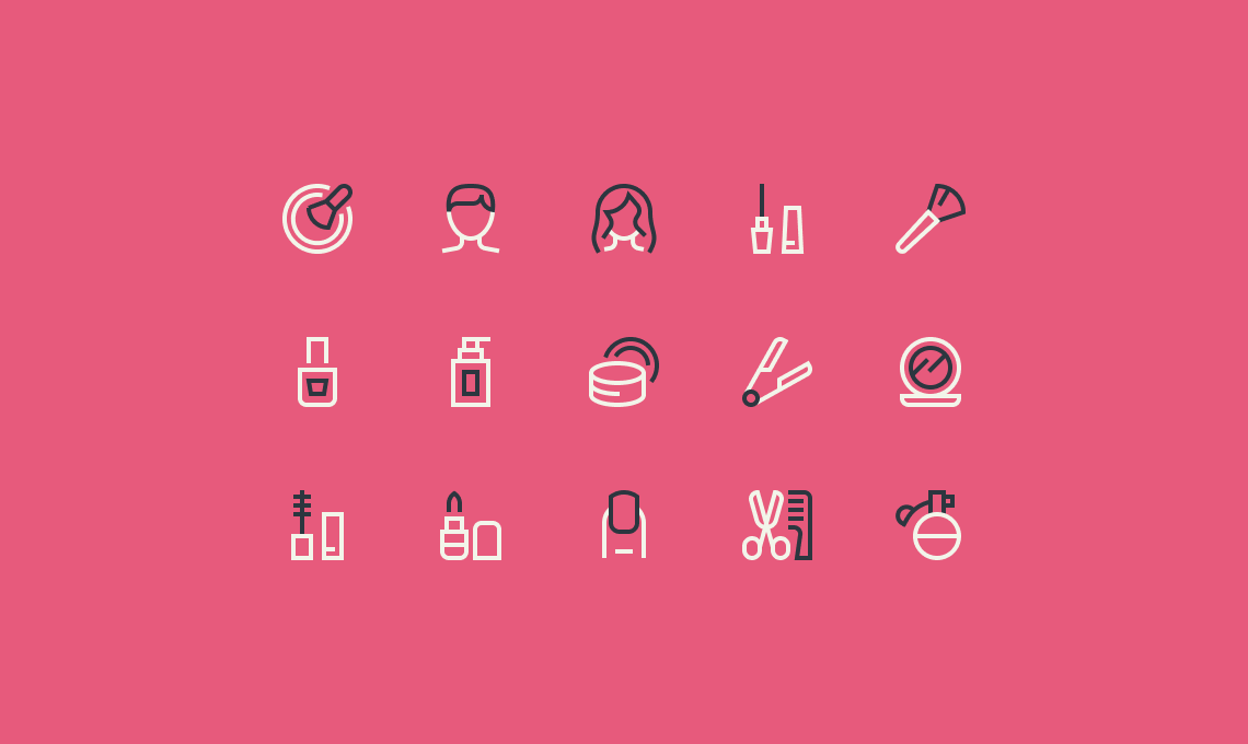 Preview of the home furniture icons