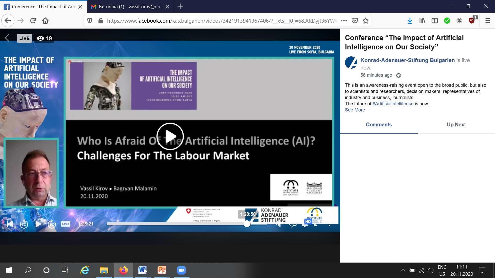 AI and Future of Labour screenshot